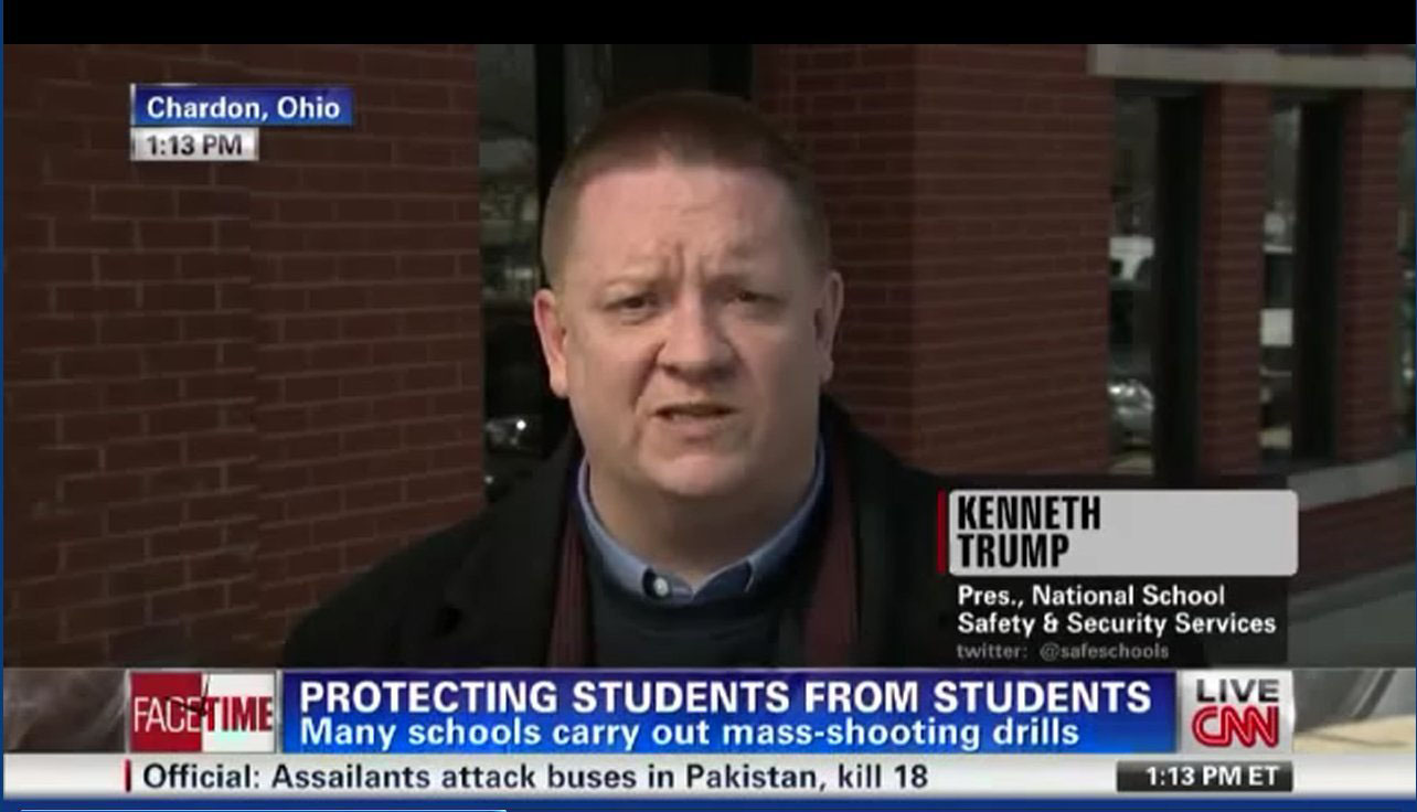 Ken Trump Live CNN Chardon School Shooting 2012